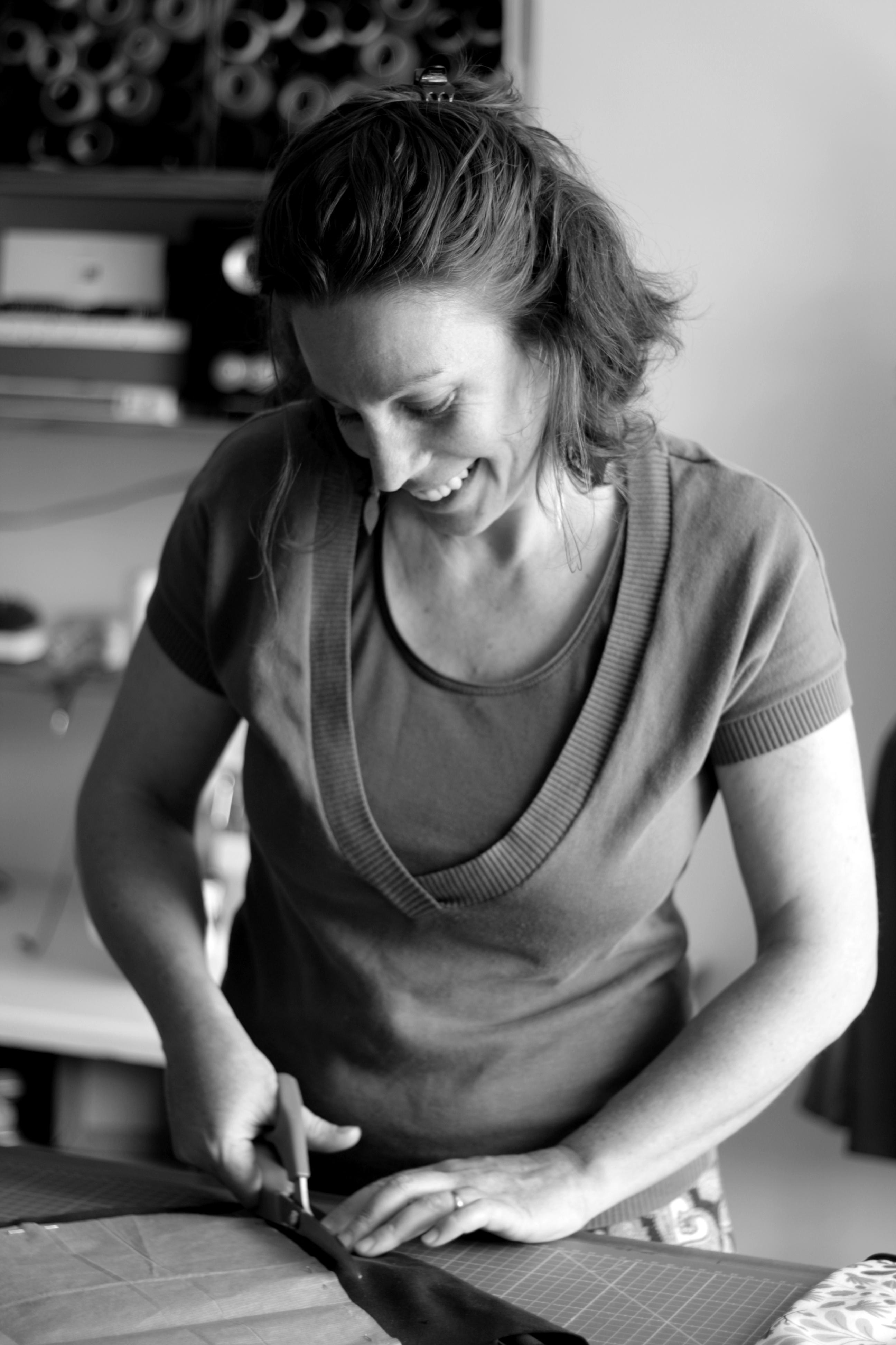 Elisa Autissier, créatrice de Bobinette Cherry : des création cousues dans le diois en éditions limités